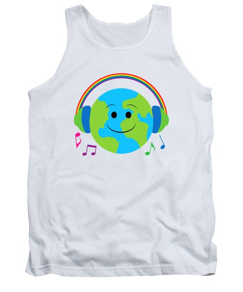 Our Musical World Tank Top by A
