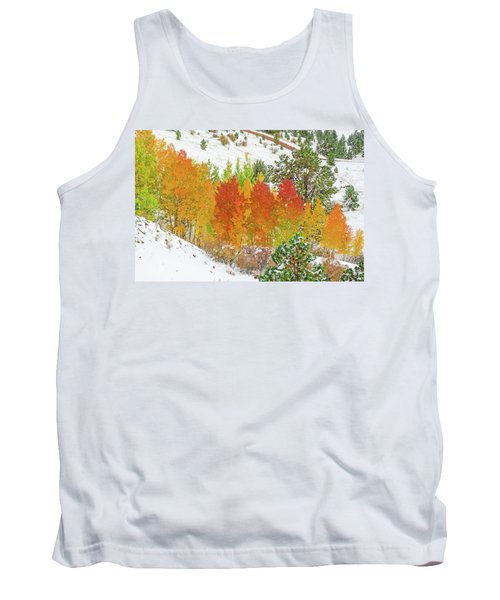 Our Winter Begins Around Mid October.  Tank Top