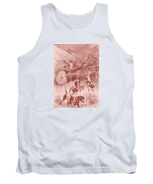 Out Foxing Tank Top by David Davies