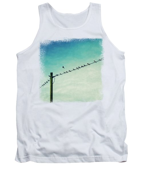 Out Of Line - Birds On A Wire Tank Top