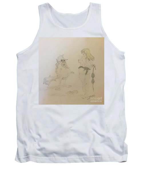 Out Of Your League  Tank Top
