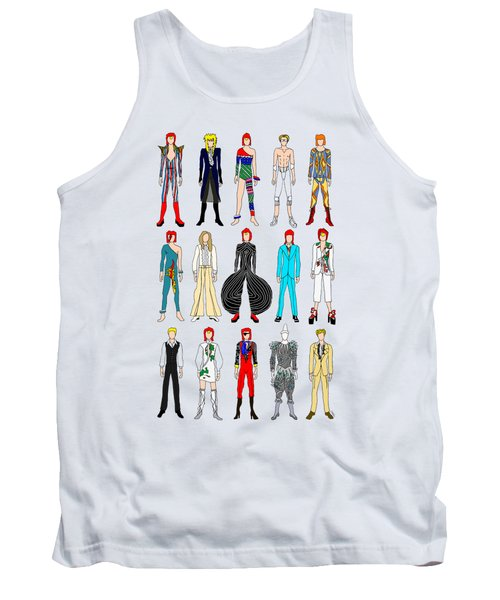 Outfits Of Bowie Tank Top by Notsniw Art