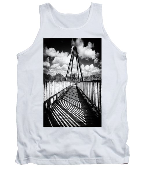 Tank Top featuring the photograph Over And Under by Nick Bywater