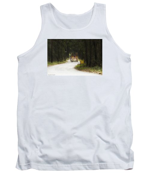 Tank Top featuring the photograph Over Size 01 by Kevin Chippindall