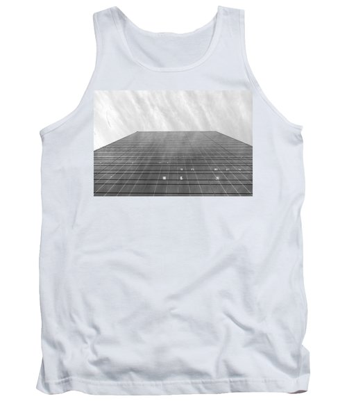 Tank Top featuring the photograph Over The City by Valentino Visentini