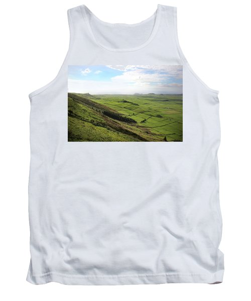 Over The Rim On Terceira Island, The Azores Tank Top