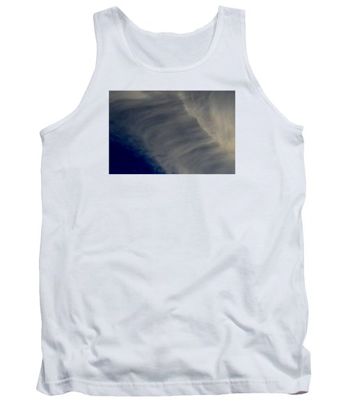 Tank Top featuring the photograph Overhead Cirrus  by Lyle Crump
