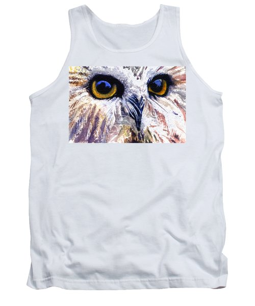Owl Tank Top by John D Benson