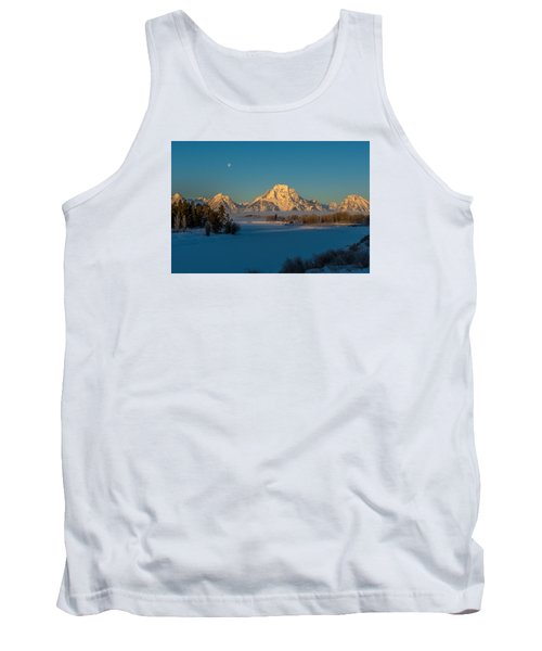 Oxbow Bend In Late Winter Tank Top by Yeates Photography