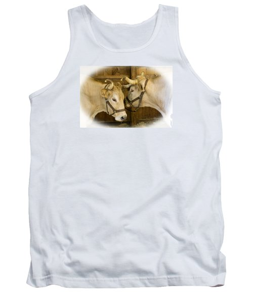 Oxen Team Tank Top by Kevin Fortier