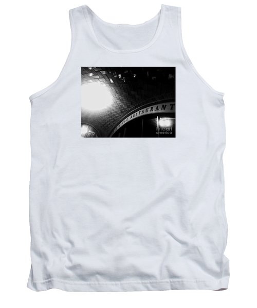 Oyster Bar At Grand Central Tank Top by James Aiken