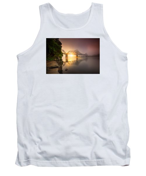 P And Le Ohio River Railroad Bridge Tank Top