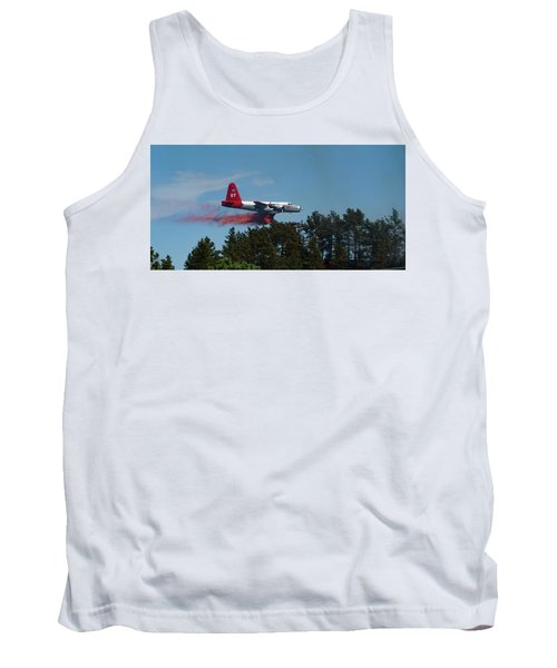 P2v Red Canyon Fire Tank Top