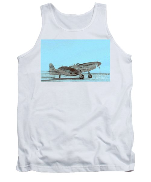P51 Warmup Tank Top by Greg Moores