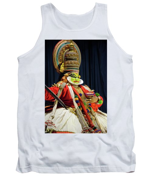 Tank Top featuring the photograph Pacha Vesham by Marion Galt