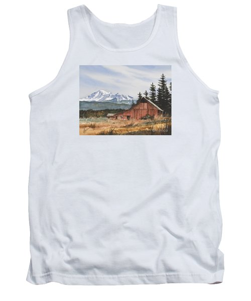 Pacific Northwest Landscape Tank Top