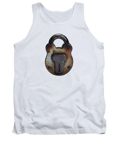 Padlock Tank Top by Tom Conway