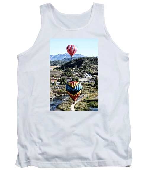 Pagosa Springs Colorfest 2015 Tank Top by Kevin Munro