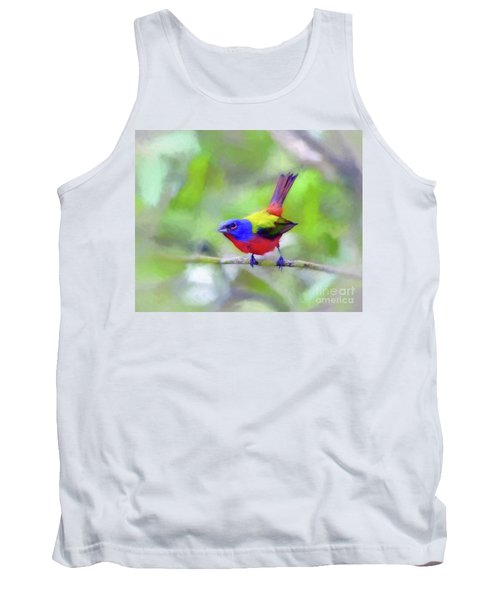 Painted Bunting Tank Top