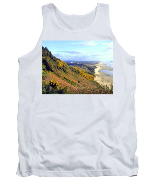 Painted Oregon Coast Tank Top