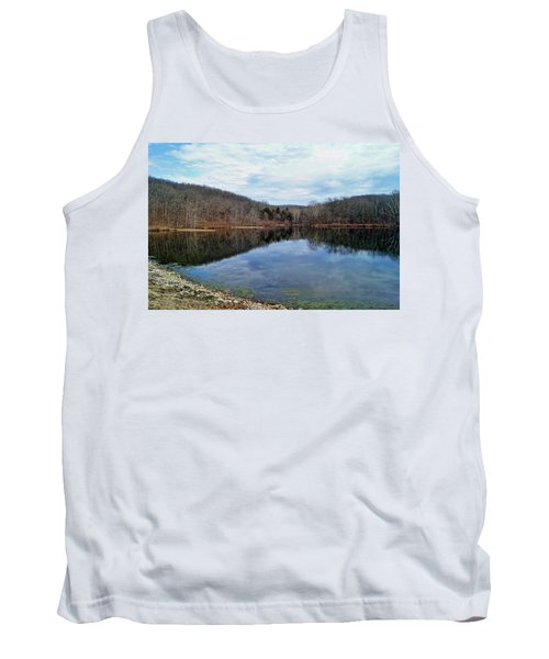 Tank Top featuring the photograph Painted Rock Conservation Area by Cricket Hackmann