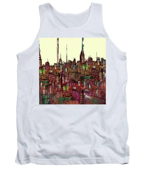 Painting 775 1 New York Skyline Tank Top