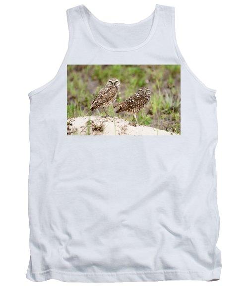 Pair Of Burrowing Owls Tank Top
