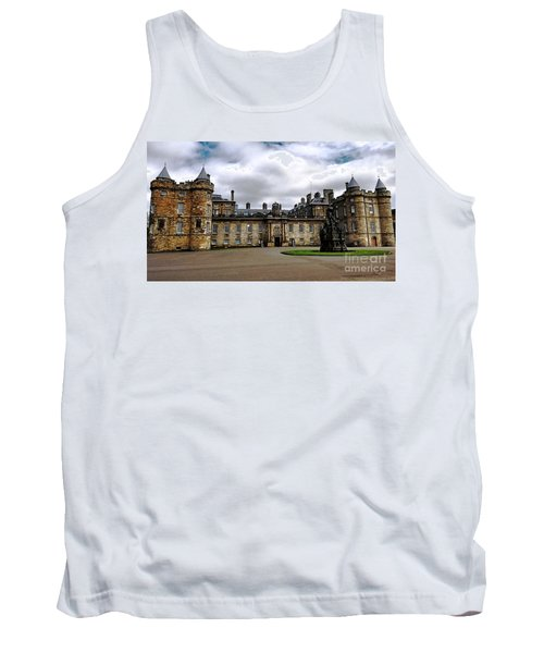 Palace Of Holyroodhouse  Tank Top by Judy Palkimas