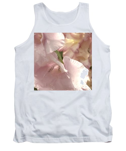 Pale Pink Glads Tank Top