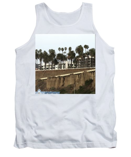 Palm Trees And Apartments Tank Top