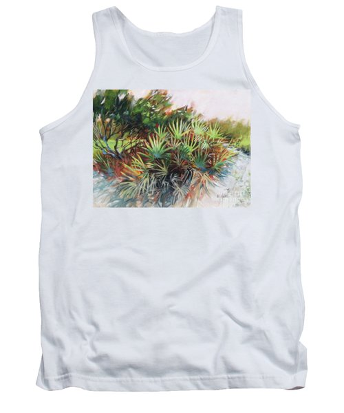 Palmetto Dance Tank Top by Mary Hubley