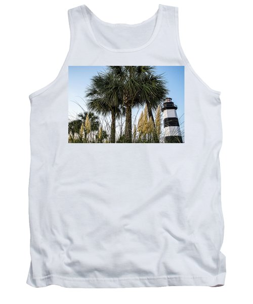Palms At Lightkeepers Tank Top