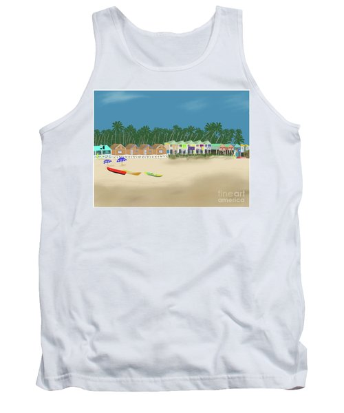 Palolem Beach Goa Tank Top