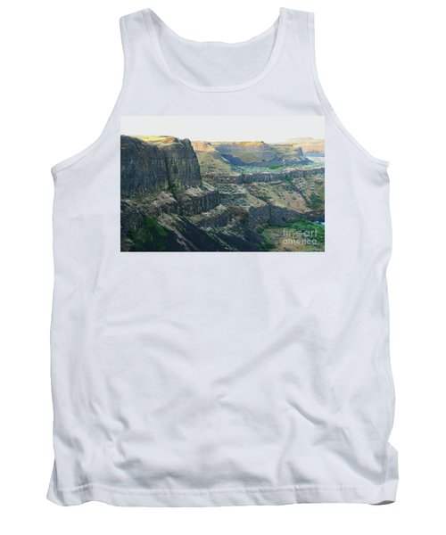 Palouse River Canyon Buttes Tank Top