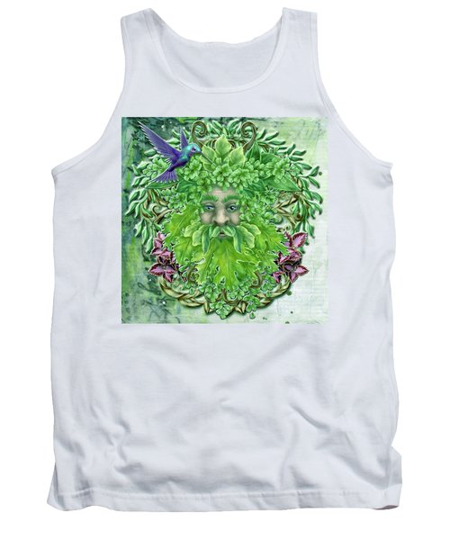 Pan The Protector Tank Top by Angela Hobbs