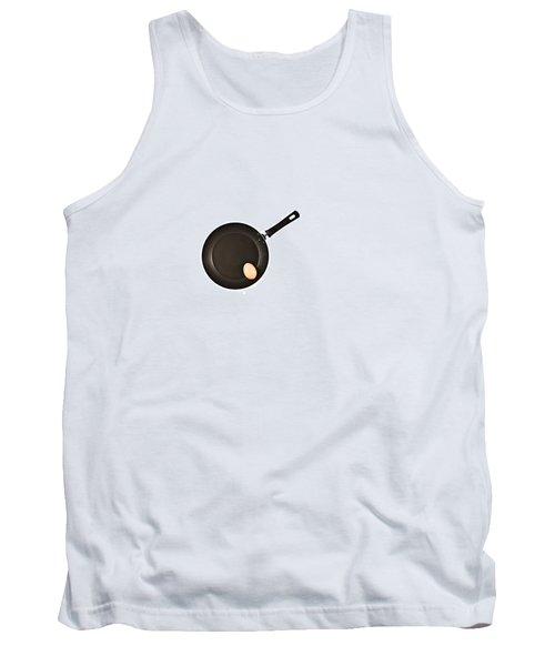 Tank Top featuring the photograph Pan With Egg by Gert Lavsen