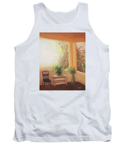 Pancho Come Home Tank Top by Irene Corey