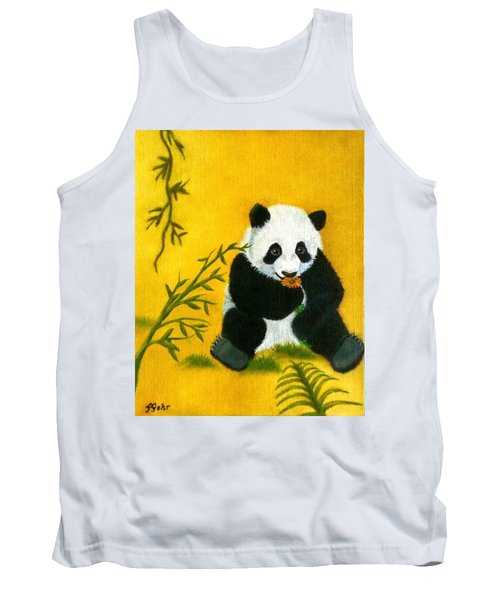 Panda Power Tank Top