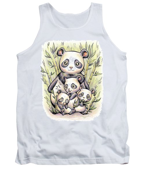 Endangered Animal Giant Panda Tank Top