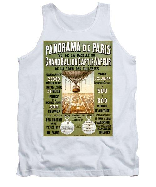 Panorama De Paris Tank Top