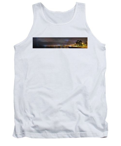 Panorama Of Reykjavik Iceland Tank Top by Joe Belanger