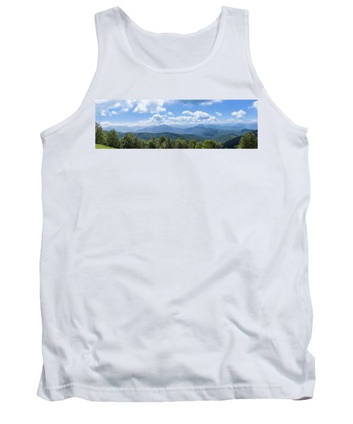 Panorama Of The Foothills Of The Pyrenees In Biert Tank Top