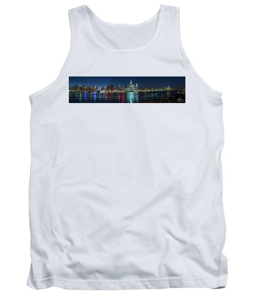 Panoramic Skyline-manhattan Tank Top