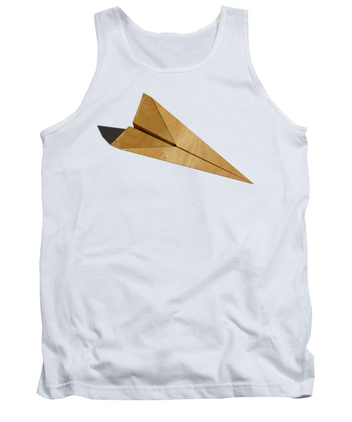 Paper Airplanes Of Wood 15 Tank Top