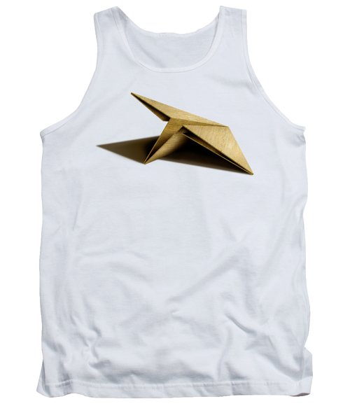Tank Top featuring the photograph Paper Airplanes Of Wood 7 by YoPedro