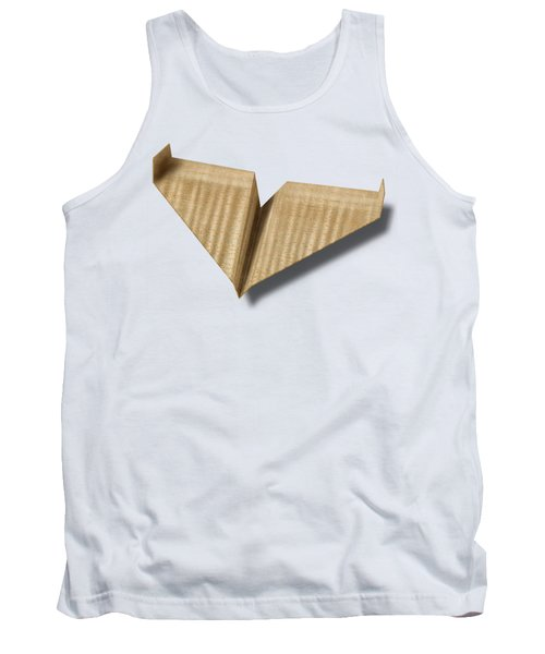 Paper Airplanes Of Wood 8 Tank Top