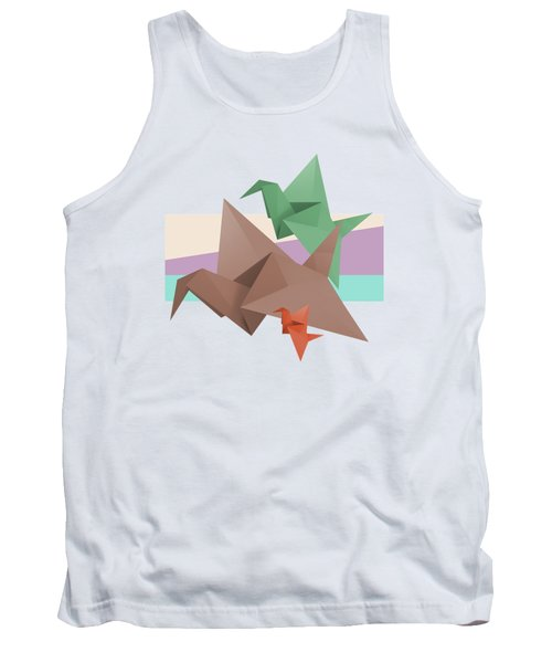 Paper Cranes Tank Top by Absentis Designs