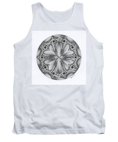 Paradoxical Zendala Tank Top