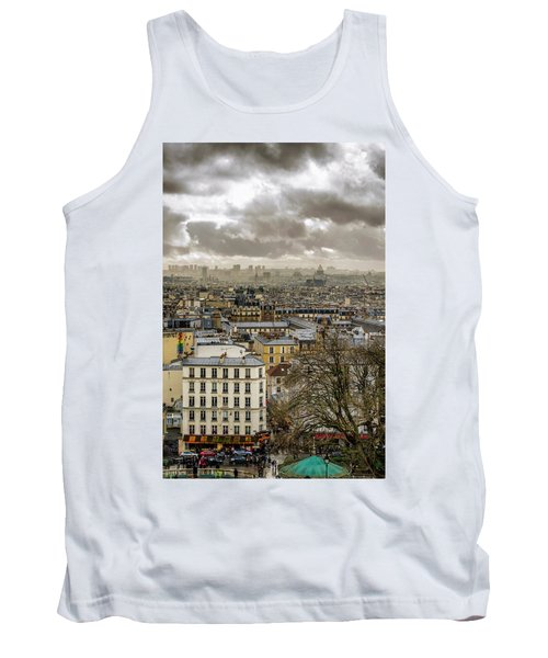 Paris As Seen From The Sacre-coeur Tank Top