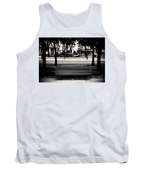 Paris Bench Tank Top